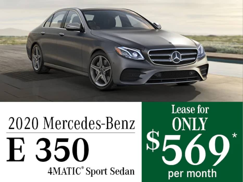 MB Offer Image - 933x700 - 2020 Mercedes-Benz E 350 4MATIC® Sport Sedan