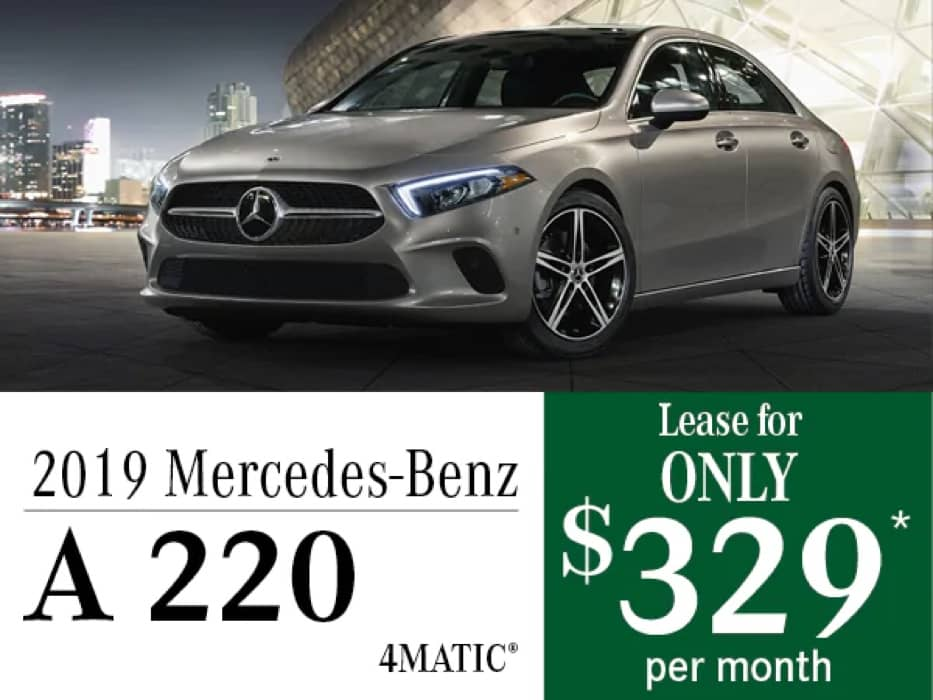 MB Offer Image - 933x700 - New 2019 Mercedes-Benz A 220 4MATIC® Offers