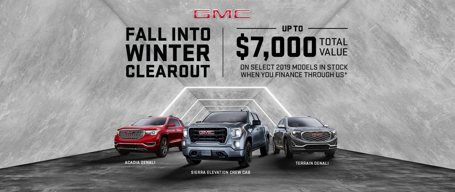 2019 GMC Multi-Line