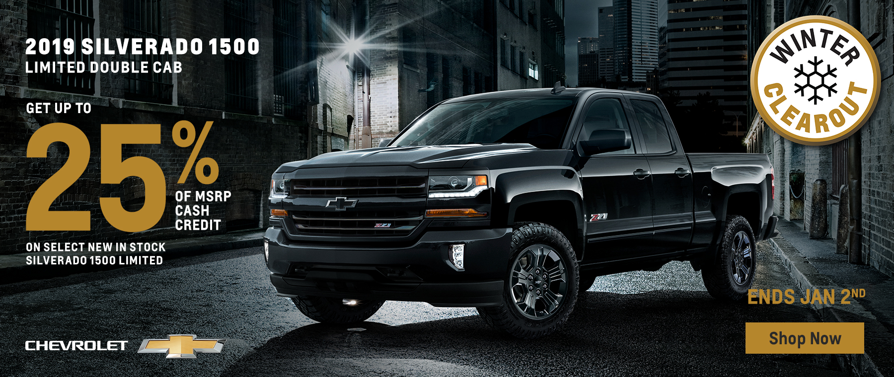 2019 Silverado 1500 Limited Double Cab