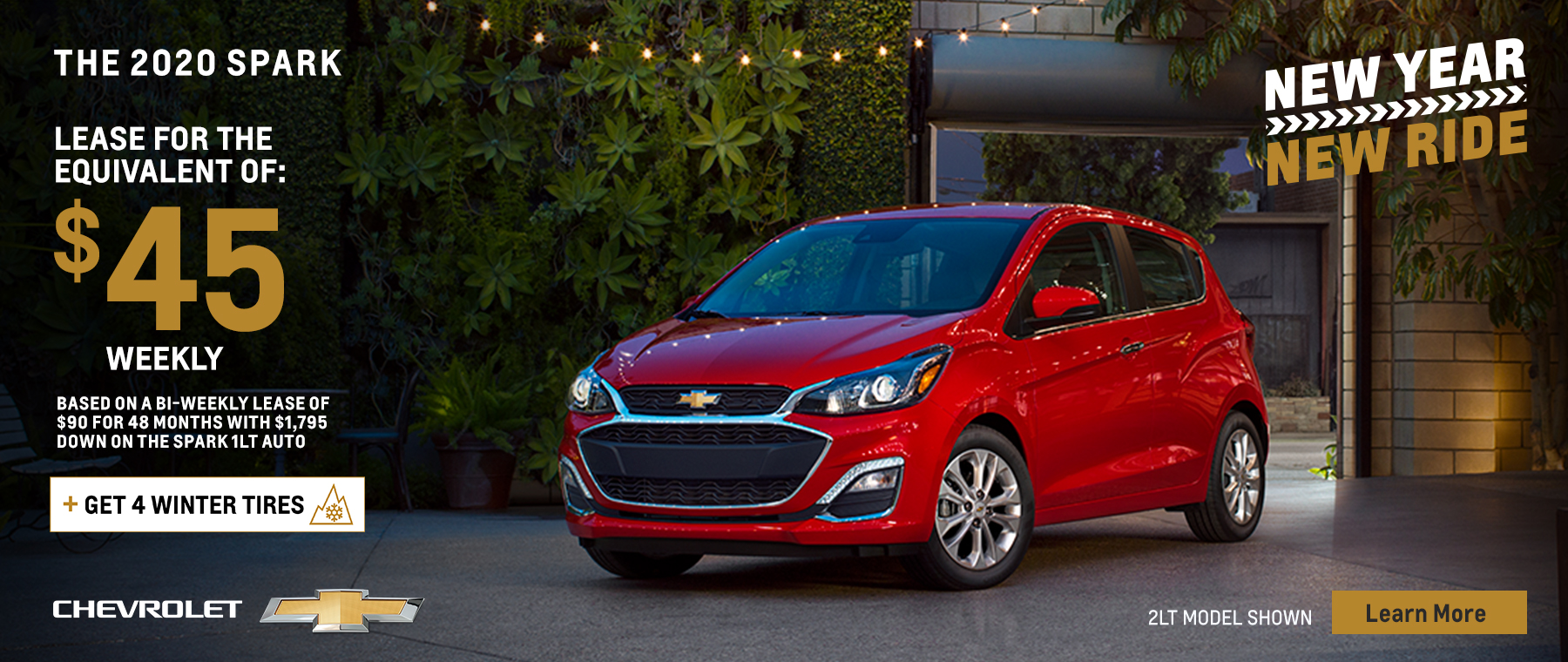 New Year, New Ride 2020 Chevy Spark