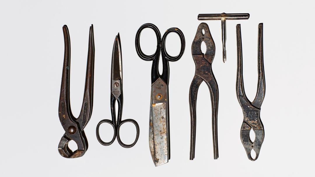 Adi Dassler's tools
