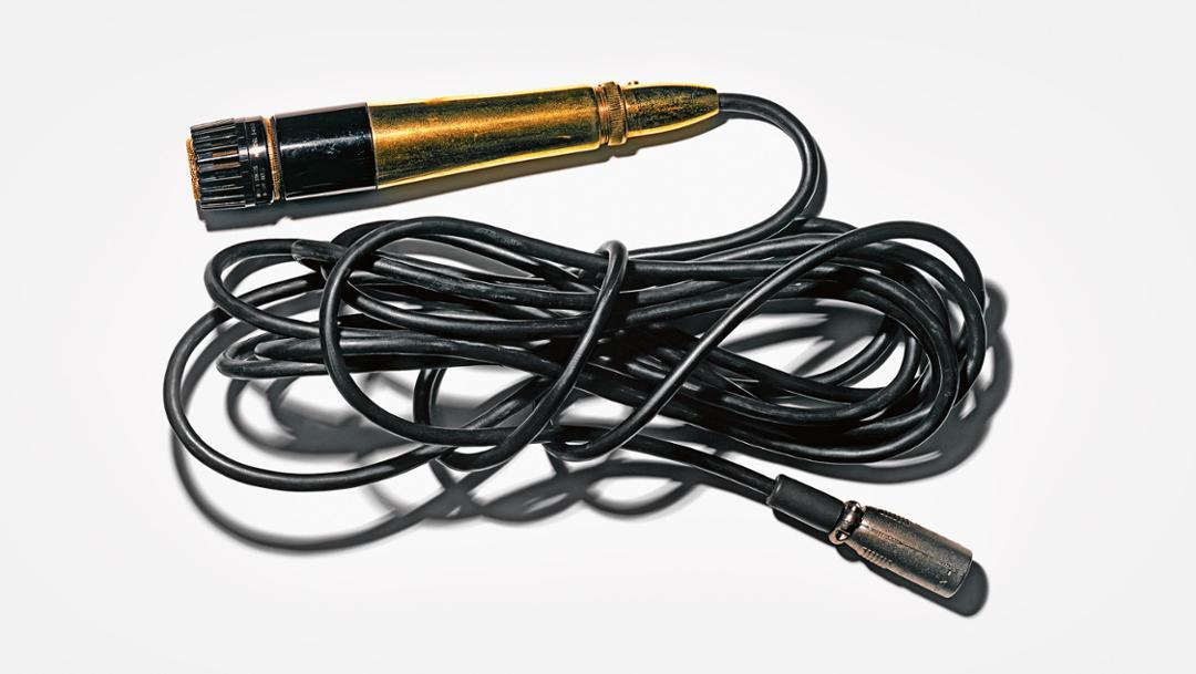Elvis Presley's microphone