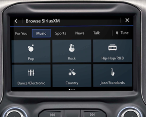 AVAILABLE SiriusXM® 360L